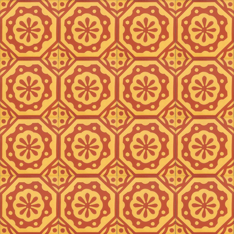 zementfliesen retro fliesen orientalisch muster a0026b ventano. Black Bedroom Furniture Sets. Home Design Ideas