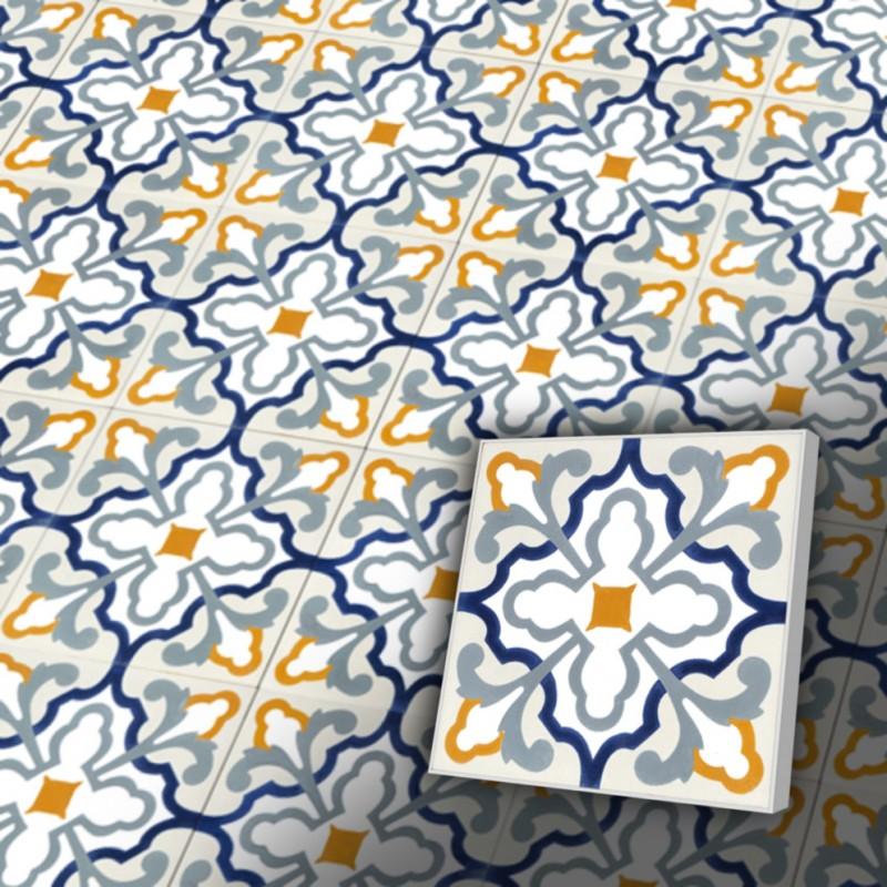 zementfliesen retro fliesen orientalisch muster fv20. Black Bedroom Furniture Sets. Home Design Ideas
