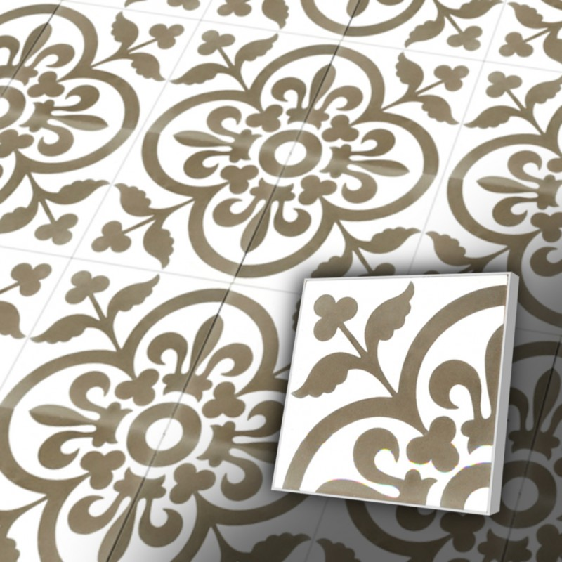 Zementfliesen Retro Fliesen Jugendstil Design V20 052 B Ventano