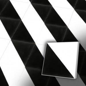 Zementfliesen antik, historischer Baustoff | Retro-Fliesen | Design | Muster V20-139A-a | Ventano