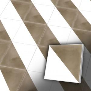 Zementfliesen antik, historischer Baustoff | Retro-Fliesen | Design V20-139D-a | Ventano