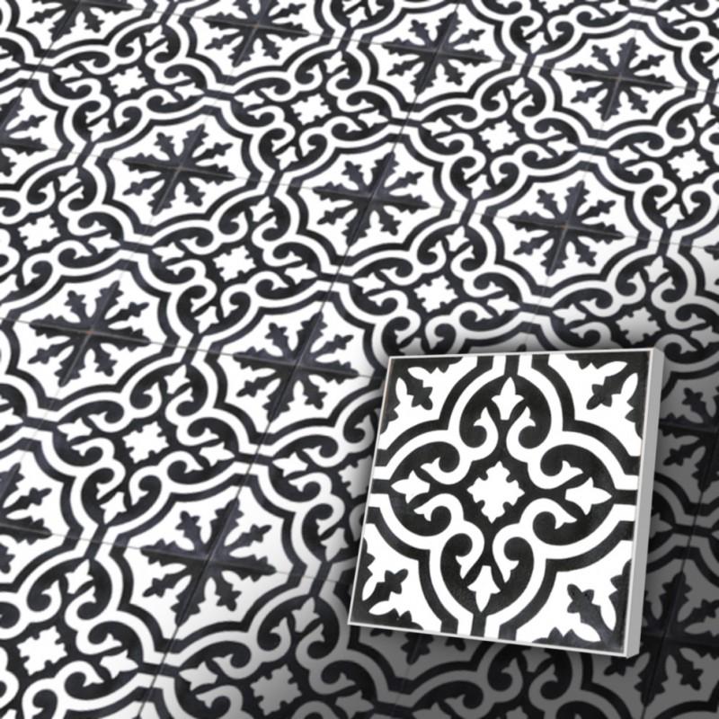 Zementfliesen RetroFliesen Maurisch Muster VB Ventano - Fliesen maurisch