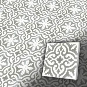 Zementfliesen antik, historischer Baustoff   Retro-Fliesen   Maurisch   Design V20-200-H   Ventano