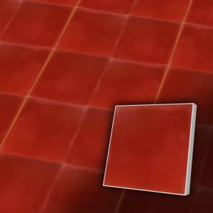 Zementfliesen antik, historischer Baustoff | Farbig | Fliese antik | Muster VE5000-a | Ventano