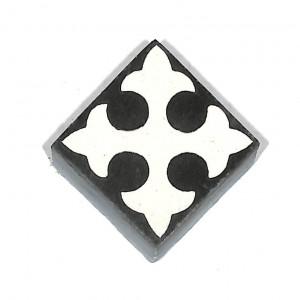 Zementfliesen antik, historischer Baustoff | Retro-Fliesen | Sechseck | Design V04-053-E | Ventano