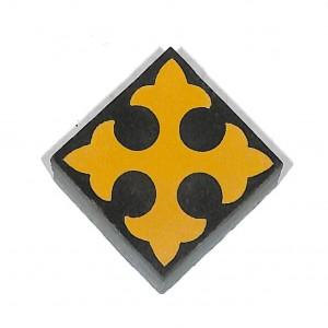 Zementfliesen antik, historischer Baustoff   Retro-Fliesen   Sechseck   Design V04-053-G   Ventano