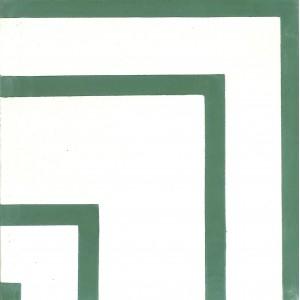 Zementfliesen antik, historischer Baustoff | Retro-Fliesen | Design V15C-001-B | Ventano