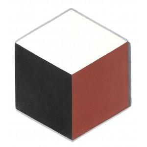 Zementfliesen antik, historischer Baustoff | Retro-Fliesen | Sechseck | Design V15H-001-C | Ventano