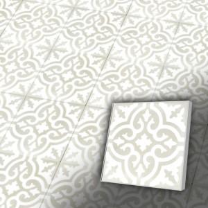 Zementfliesen antik, historischer Baustoff | Retro-Fliesen | Maurisch | Design Z20-200-E | Ventano
