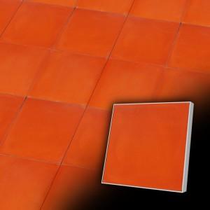 Zementfliesen antik, historischer Baustoff | Retro-Fliesen |Muster V15-U5004 | Ventano