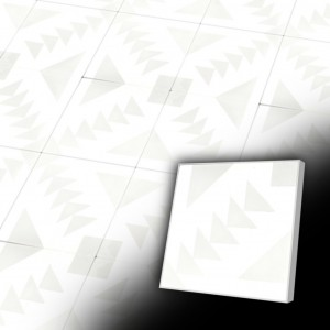 Zementfliesen antik, historischer Baustoff | Retro-Fliesen | Design V20-361-A | Ventano