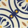 Zementfliesen blau gelb kueche V20-651-A_2
