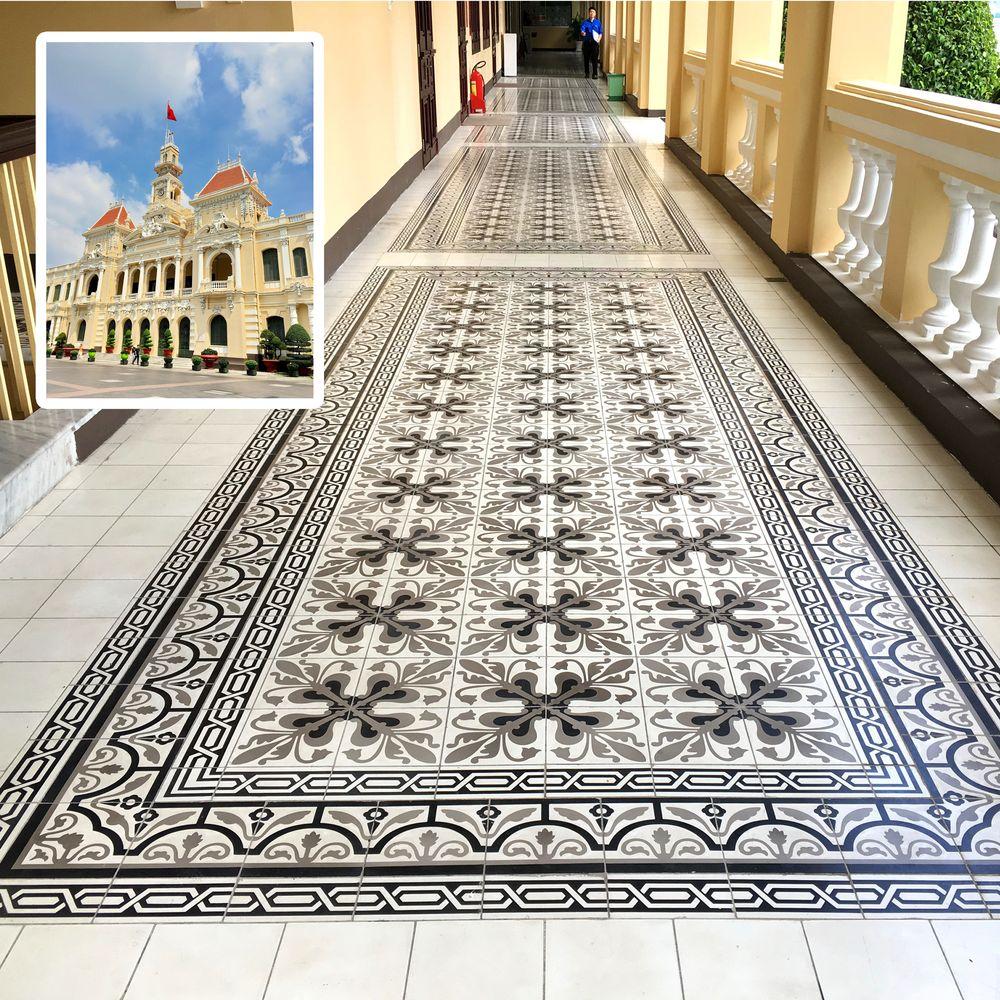 Zementfliesen-Geschichte-Dekorfliesen-Mosaikfleisen-Boden-Fliesen-Design